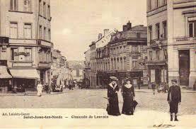 Semi Piétonisation De La Chaussée De Louvain à Saint Josse