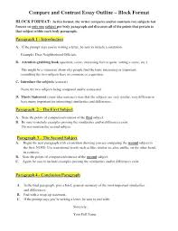 compare and contrast essay for college examples of comparison and contrast essays examples of comparing and