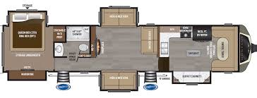 rv floor plans. Montana 3820FK Rv Floor Plans