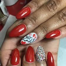 Red And White Nail Designs 28 Almond Nail Art Designs Ideas Design Trends Premium