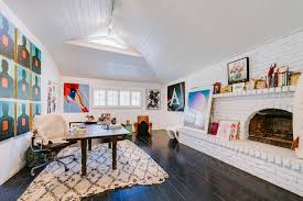 simple home office ideas magnificent. Eclectic Home Office Decor Simple And Attractive - Eclectic-style In Magnificent Attic Ideas