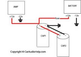capacitor wiring diagram car audio images ideas about car audio wiring a stereo capacitor wiring wiring diagram and