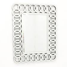decorative bathroom mirror rectangle. Fab Glass And Mirror THE UNION - Decorative Rectangle Wall Design L 35.5 X W 27.5 Bathroom
