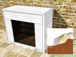 image titled make a fake fireplace step 8
