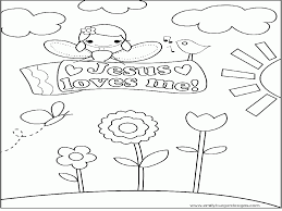 Small Picture Jesus Loves Me Coloring Pages Best Coloring Page Site Coloring