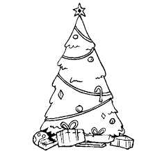 Christmas Tree Coloring Page Printable | Christmas Coloring pages ...