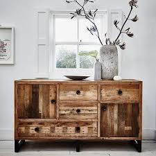 modish furniture. standford industrial reclaimed wood large sideboard modish living furniture