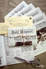 Wedding Invitation Newspaper Template The Non Traditional Wedding Invitation Wedding Newspaper