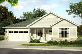 one level house plans with front porch baers