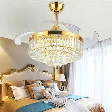 4 blads silent chandelier fan light