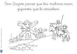 Resultado de imagen de el quijote en infantil