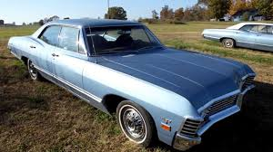 1967 Chevy Impala 4 dr Hardtop A/C 41K Miles for sale Chevrolet ...