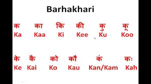 How To Write Speak Read Hindi Barakhadi Ka Kaa Ki Kee 12 Sounds