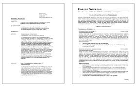 Telecommunications Resume Example