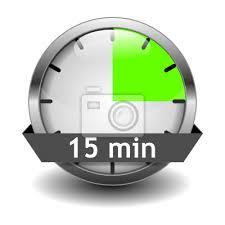 Timer For 15 Min Timer 15min Fototapete Fototapeten Unter Dem Alter Druckknopf 15