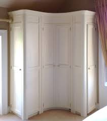 corner bedroom furniture. curved fitted corner wardrobe hand painted in a cream wwwlinehansdesigncom https bedroom furniture l