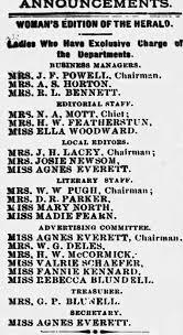 Agnes Everett. daughter of James E. Everett - Newspapers.com