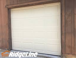 8x7 garage doorMidAmerica Steel Model 2500 NonInsulated Color almond 8x7
