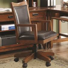 maclay 4 piece l shaped desk home office set in red brown finish by coaster 801201 s brown finish home office
