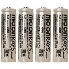 8x 12V NiMH Rechargeable Garden Solar Lights Battery AA 600mAh Ni Solar Light Batteries Aa