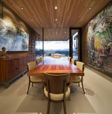 style dining room paradise valley arizona love: single storey hillside residence exhaling simple sophistication in paradise valley arizona freshomecom