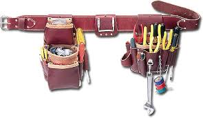 leather electricians tool bag. 5036 - leather pro electrician™ set electricians tool bag