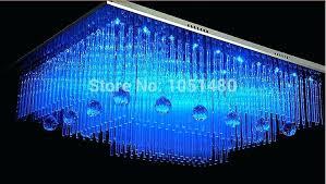 chandelier led lights new modern square crystal lamp remote control chandelier living led lighting in chandeliers