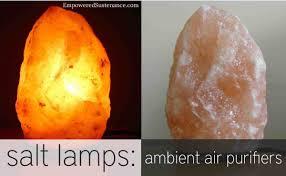 himalayan salt lamps purify the air naturally