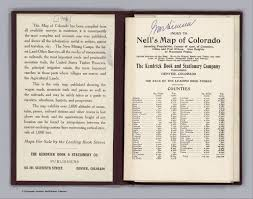 Index Page: Index To Nell's Map Of Colorado - David Rumsey ...