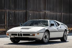 Coupe Series 1981 bmw m1 price : The Original BMW M1