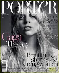 lady a goes makeup free still looks amazing on porter magazine cover