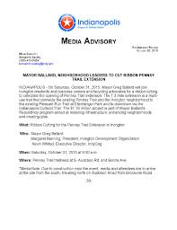 Media Advisory Media Advisory Example Under Fontanacountryinn Com