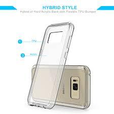 <b>Crystal</b> Clear Slim Galaxy S8 Plus <b>Case</b>