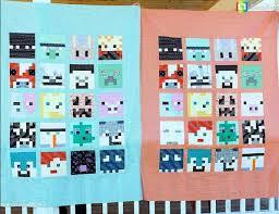 Minecraft Quilt Pattern FREE - My Handmade Space & minecraft-quilt pattern Adamdwight.com