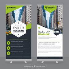 pop up brochure template roll vectors photos and psd files free download