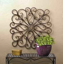 Vintage antique wrought iron floral architectural wall decor hanging hook. Wrought Iron Wall Decor Accent Your Home Decor Ideas