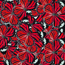 Fancy Patterns Best Background Texture Made Of Red Common Tiger Butterflies In Fancy