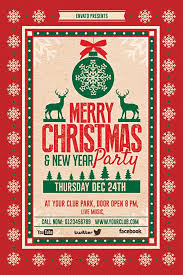 Work Christmas Party Flyers Christmas Party Flyer By Creative Artx Via Behance Festival
