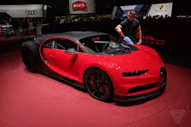 The new chiron sport 110 ans bugatti bears one of the most famous symbols of a proud nation. Sitting Inside Bugatti S New 3m Chiron Didn T Make Me A Better Person The Verge