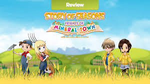 Story of llylgamyn (english patched). Story Of Seasons Friends Of Mineral Town Switch Review Vooks