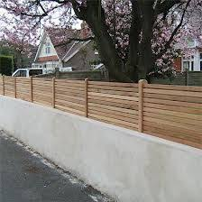 Small Picture Curved Garden fence Outside Pinterest Garden fencing