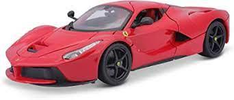 Amazon Com Bburago 1 18 Scale Ferrari Race And Play Laferrari Diecast Vehicle Colors May Vary Toys Games
