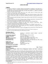 Asp Net Sample Resume Download Sample Resume Of Net Developer DiplomaticRegatta 5