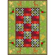 63 best Quilts by Jeanne Large and Shelley Wicks images on ... & Free christmas tablerunner 2 quilt idea, (idea from the book `Tis The Season Adamdwight.com