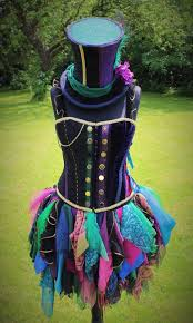 hand made female mad hatter costume by faerieinthefoxglove