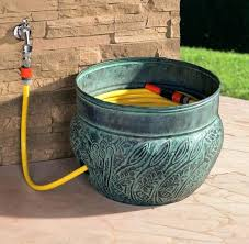 garden hose pot with lid. Garden Hose Container Storage Pot With Lid Design Home Inspirations Reviews .