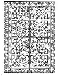 Decorative Tile Designs 100 best Coloring pages to print Decorative Tile Designs images on 23