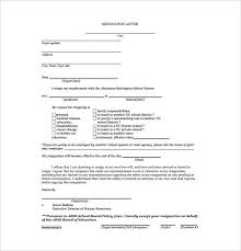 Letter Of Resignation 2 Weeks Notice Sample How To Write Resigning ...