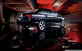 black honda civic wallpaper. Simple Black Wide  In Black Honda Civic Wallpaper 8