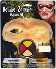 new deluxe zombie horror makeup kit face paint prosthetic fancy dress